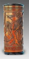 竹雕山水人物花插 -  - 艺术珍玩 - 十周年庆典拍卖会 -收藏网