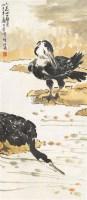 鱼鹰图 立轴 - 116101 - 中国书画 - 2011年秋季中国书画拍卖会 -收藏网