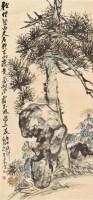 岁寒三友 立轴 纸本设色 - 4983 - 中国书画专场 - 2011秋季拍卖会 -收藏网