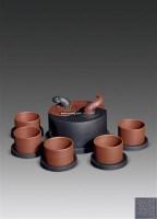 吕尧臣 吕俊杰 吕氏阴阳太极紫砂壶 -  - 杂项 玉石 - 2011年春季拍卖会 -中国收藏网