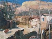 风景 布面油画 - 王琨 - 当代与唯美 中国油画雕塑 - 2008春季大型艺术品拍卖会 -收藏网