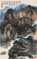 赖少其 1982年作 黄山奇境 立轴 设色纸本 - 赖少其 - 中国书画(二) - 2006秋季大型艺术品拍卖会 -收藏网
