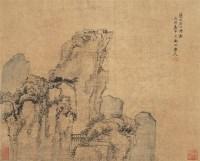 山水 立轴 设色绢本 - 渐江 - 中国古代书画 - 2006秋季拍卖会 -收藏网