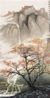 红树醉秋光 镜心 设色纸本 - 张培武 - 中国当代书画 - 2006冬季拍卖会 -收藏网