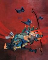 射手 布面 油画 - 岂梦光 - 中国油画(一)当代专场 - 2007春季大型艺术品拍卖会 -收藏网