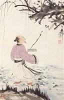 高仕图 立轴 设色纸本 - 139818 - 中国书画专场 - 迎新春书画精品拍卖会 -收藏网