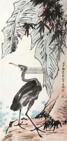 花鸟 立轴 纸本 - 李苦禅 - 大众典藏 - 2011年第六期大众典藏拍卖会 -收藏网