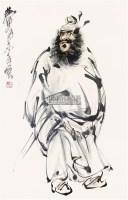 钟馗 立轴 - 7693 - 中国书画专场 - 2010年冬季艺术精品拍卖会 -收藏网