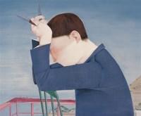 飞刀 布面油画 - 139805 - 中国当代艺术 - 大海航行—中国当代艺术秋季拍卖会 -中国收藏网