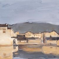 王琨 37926 记录皖南(一) 布上油画 - 王琨 - 中国西画 - 2006秋季拍卖会 -收藏网