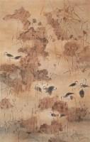 王雨 秋籁无声 镜心 设色纸本 - 王雨 - 当代中国书画(一) - 2006畅月(55期)拍卖会 -收藏网