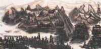 西疆风骨 镜心 设色纸本 - 李宝林 - 中国书画(二) - 2006年秋季拍卖会 -收藏网