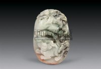 翡翠双狮挂件 -  - 瓷器 杂项 - 2007春季艺术品拍卖会 -收藏网
