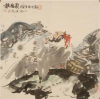 杜恒范(1928-)听松图 -  - 雅纸藏中国现当代书画 - 2007首届秋季艺术品拍卖会 -收藏网