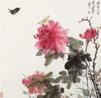 花鸟 镜框 - 118314 - 中国书画 - 2011秋季艺术品拍卖会 -收藏网