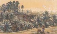 RUDOLF BONNET A landscape in Bali -  - 现代及当代东南亚艺术 - 2007春季艺术品拍卖会 -收藏网