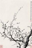 陶冷月   墨梅 - 陶冷月 - 中国近现代书画 - 2007年第1期嘉德四季拍卖会 -收藏网
