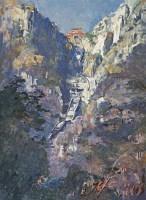 南天门 布面  油画 - 冯法祀 - 现代中国艺术 - 2006秋季拍卖会 -收藏网