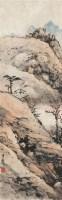 秋山图 镜心 设色纸本 - 122935 - 小品专场 - 首届艺术品拍卖会 -收藏网