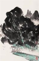山水 镜心 设色纸本 - 徐 希 - 中国当代书画 - 2008春季拍卖会 -收藏网