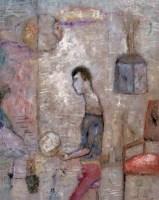 房间里 布面 油彩 - 任小林 - 中国油画(一)当代专场 - 2007春季大型艺术品拍卖会 -收藏网