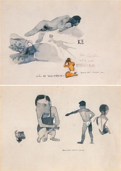 郭伟    无题 (二件一组) - 125661 - 中国当代艺术(二) - 2007春季拍卖会 -收藏网