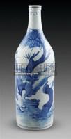 青花人物纹瓶 -  - 古董珍玩 - 2011春季艺术品拍卖会 -收藏网