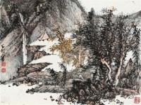 听泉图 镜片 - 131473 - 中国书画 - 壬辰迎春 -中国收藏网