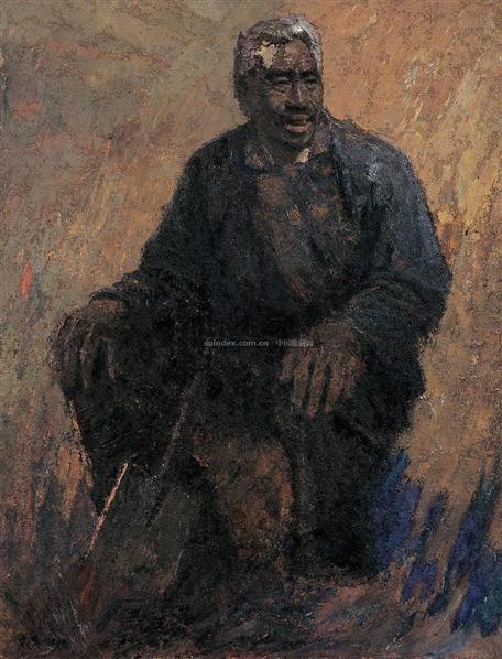 暮色 布面 油画 - 140897 - 中国油画及雕塑(上) - 2008春季拍卖会 -收藏网