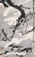 墨梅图 立轴 水墨纸本 - 韩天衡 - 中国书画(一) - 2006年秋季艺术品拍卖会 -收藏网