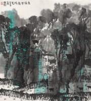 赵卫 夜宿甘南所见 镜心 设色纸本 - 赵卫 - 中国书画 - 2006首届艺术品拍卖会 -收藏网