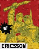 王广义  1998年作 大批判—爱立信 布面油画 - 王广义 - 中国当代艺术二十年 - 2006秋季拍卖会 -收藏网
