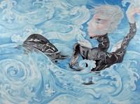 熊宇 2006年作 逆水 - 熊宇 - 油画 - 70后中国新艺术专场拍卖会 -中国收藏网