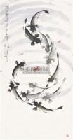 闭户观鱼 镜心 设色纸本 - 张鹤云 - 中国书画 - 2011首届书画精品拍卖会 -收藏网
