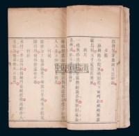 清道光刻本《手谈诗集》一册全 -  - 钱币 杂项 - 2008春季拍卖会 -中国收藏网