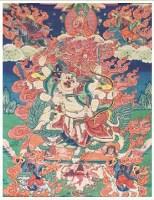白哈尔唐卡 -  - 佛像唐卡 - 2007春季艺术品拍卖会 -中国收藏网