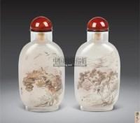 周乐元内昼鼻烟壶 -  - 字画 玉器 杂项 - 2011中博香港大型艺术品拍卖会 -中国收藏网