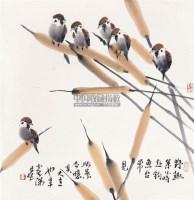 野趣 立轴 纸本 - 崔瑞鹿 - 中国书画(一) - 2011年春季艺术品拍卖会 -收藏网