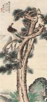花鸟 立轴 设色纸本 -  - 中国书画(一) - 2011年金秋精品书画拍卖会 -收藏网