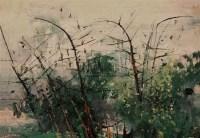 春篁 布面 油画 - 苏天赐 - 中国当代艺术 - 2007春季艺术品拍卖会 -中国收藏网