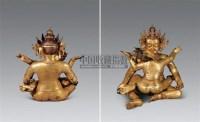 铜镀金红财神像 -  - 雪域佛光 - 2007年秋季艺术品拍卖会 -收藏网