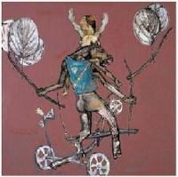 林剑峰  被困绑的飞行器 -  - 油画暨雕塑 - 2007年秋季艺术品拍卖会 -收藏网