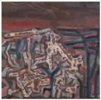 松石图 油彩 布面 - 王劼音 - 中国油画(一)-经典美术 - 2007春季拍卖会 -收藏网