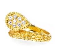 宝诗龙 钻石 黄金戒指 -  - 珠宝 & 钟表 - 2011秋季伊斯特香港拍卖会 -收藏网