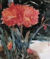 红艳 - 乌密风 - 中国油画精品 - 2005秋季大型艺术品拍卖会 -收藏网