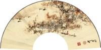 舟横图 扇面 - 135045 - 中国书画 - 2011春季艺术品拍卖会 -收藏网