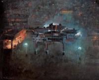 王路 黄山老街 - 王路 - 名家西画作品专场 - 2007年春季大型艺术品拍卖会 -收藏网