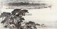 山水 镜框 - 128947 - 中国书画 - 2011秋季艺术品拍卖会 -收藏网