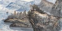 辎舟江上 镜心 水墨纸本 - 4706 - 中国书画(二) - 2006年秋季拍卖会 -收藏网