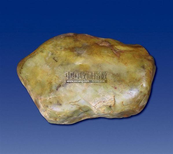 和田青黄玉石 -  - 和田玉巨石专场 - 2011秋季和田玉巨石专场拍卖会 -收藏网